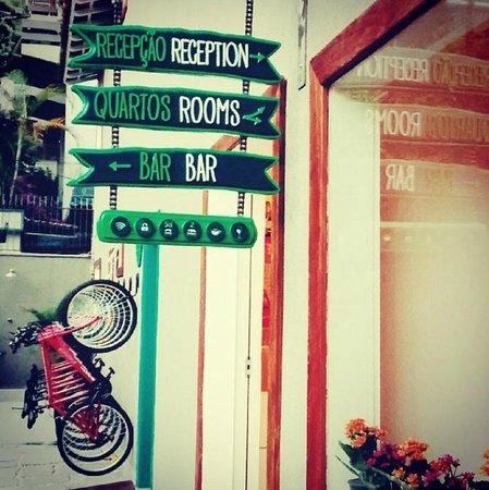 Botanic Hostel: entrada