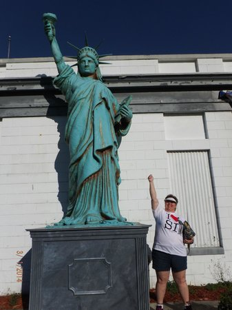 Presidents Hall of Fame: me hanging out with Liberty