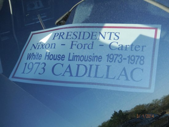 Presidents Hall of Fame: 1973 Cadillac