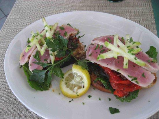 Restaurante El Muelle: このブルスケッタ。かなりヤバいです。