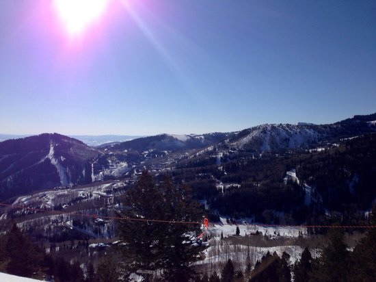 Silverado Lodge : Slope with a Spring View!