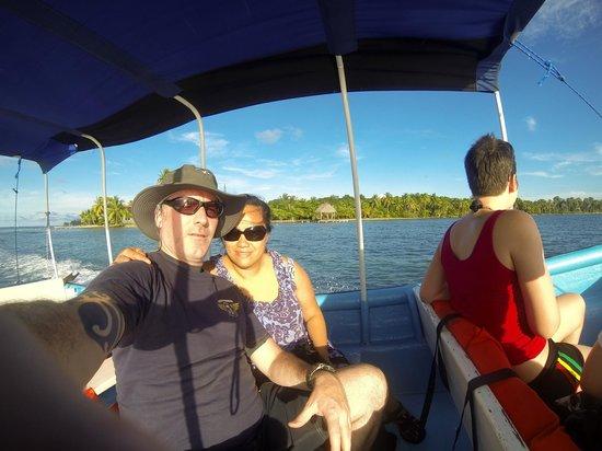 Urraca Private Island: The boat ride to Urraca is beautiful.