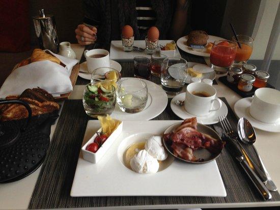 Sofitel Legend The Grand Amsterdam: breakfast