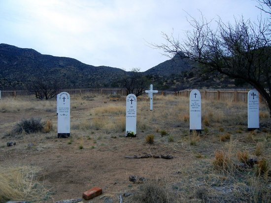 Fort Bowie National Historic Site: Post cemetery