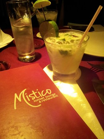 Mistico Sunset Lounge & Restaurant: ....Caipirinha :-)