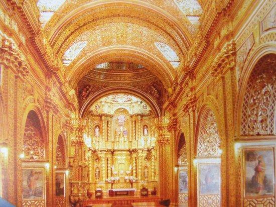 Iglesia de La Compania de Jesús: La Compania interior
