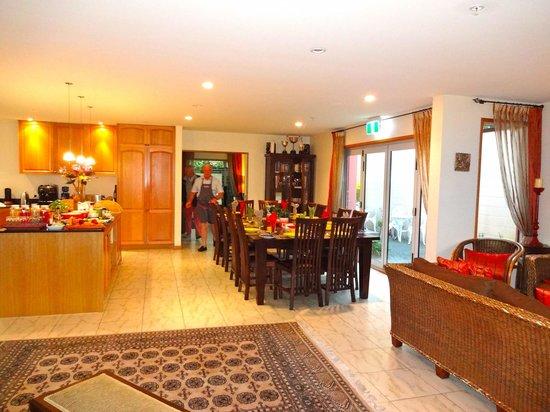 The Classic Villa : Breakfast area Classic Villa