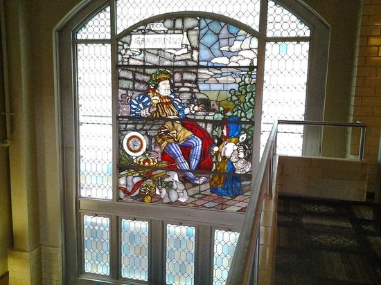 The Brewhouse Inn & Suites : Stain glass insured for $1 million
