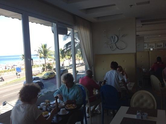 Sol Ipanema Hotel: salón de desayuno Sol Ipanema