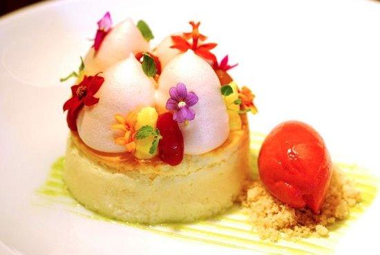 Japonais by Morimoto : 'Air' Cheesecake
