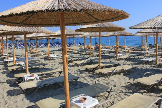 Cronwell Platamon Resort: The beach