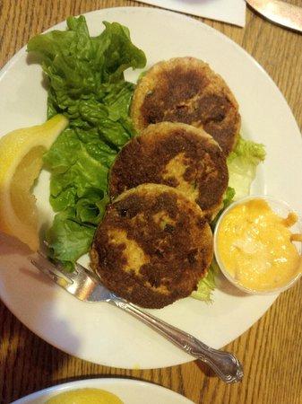 Billy Reed's Restaurant: Crab Cakes Appetiser