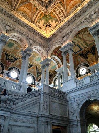 Bibliothèque du Congrès : Inside
