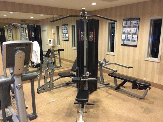 Bahia Resort Hotel: Fitness center Life Fitness machine
