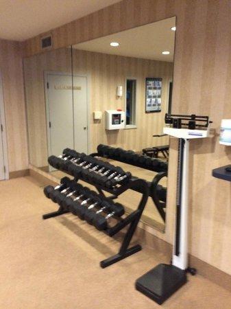 Bahia Resort Hotel: Free weights