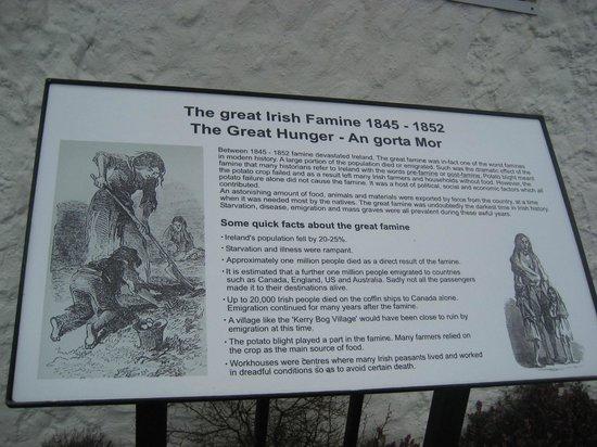Kerry Bog Village Museum: An Gorta Mor