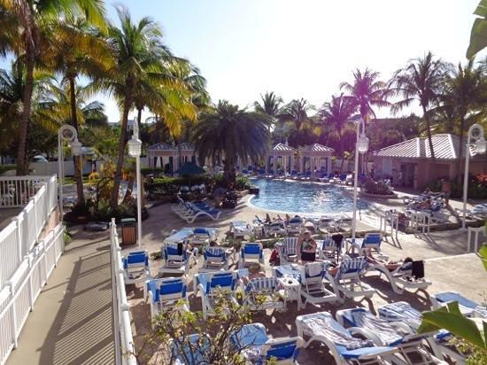 DoubleTree by Hilton Hotel Grand Key Resort - Key West: Hotel room pool view