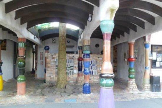 Kawakawa Public Toilets by Hundertwasser: Kawakawa toilet stop