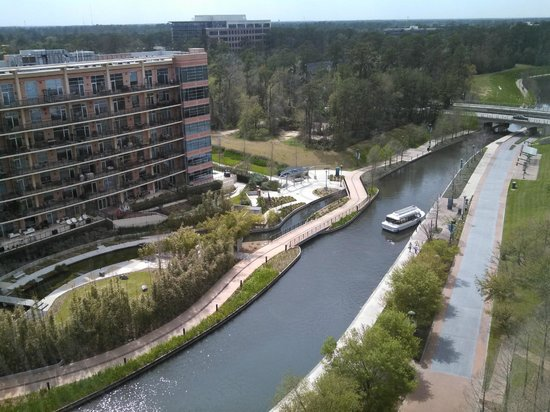 The Woodlands Waterway Marriott Hotel & Convention Center: View from our room