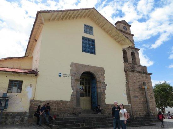 San Blas: igreja de San Blás