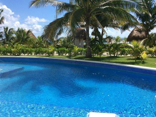 El Dorado Royale, a Spa Resort by Karisma: View from our swim up suite room