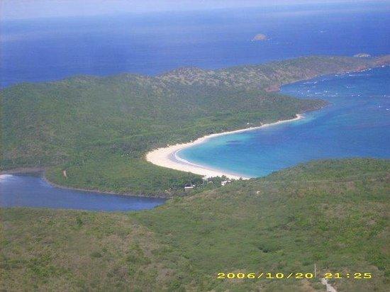 Playa Flamenco: Aerial view of Flamenco