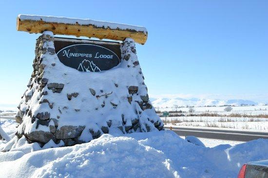 Ninepipes Lodge: Montana Winter