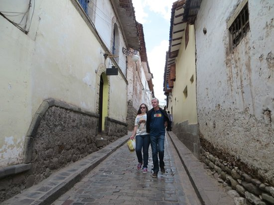 San Blas: ruas de San Blás