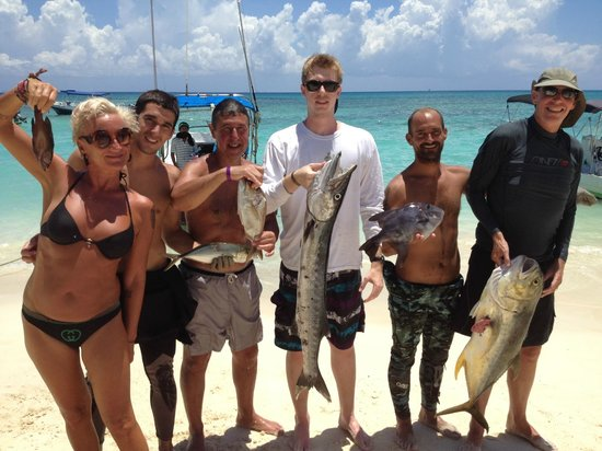 Spearfishing Playa del Carmen : What a fun time!