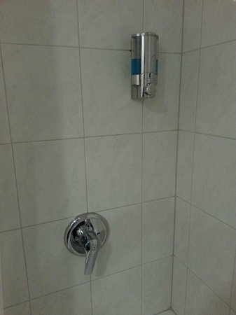 Clayton Hotel Dublin Airport: Shower soap dispenser