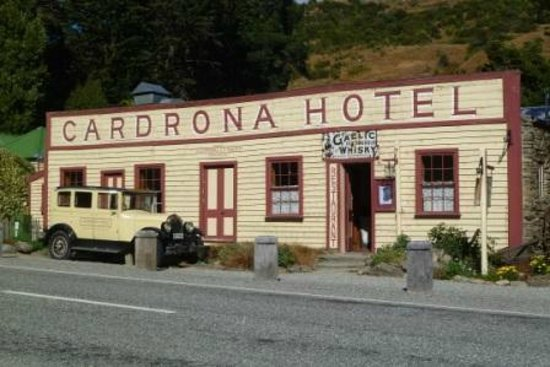 The Cardrona Hotel...a must visit.