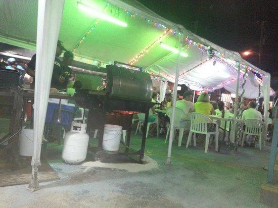 Sunbay Hotel : Oistins at night