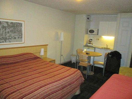 Punta Trouville Hotel : quarto