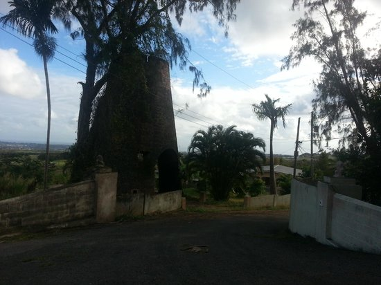 Sunbay Hotel : Old windill on the way to St. Nicks Abby