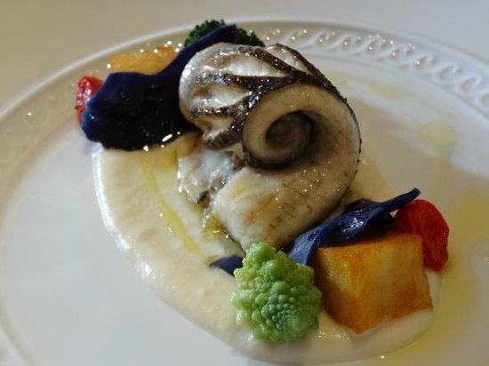 Il Ridotto : Beautiful fish - part of the lunch menu