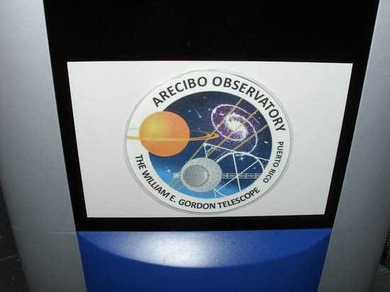 Arecibo Observatory: Signage