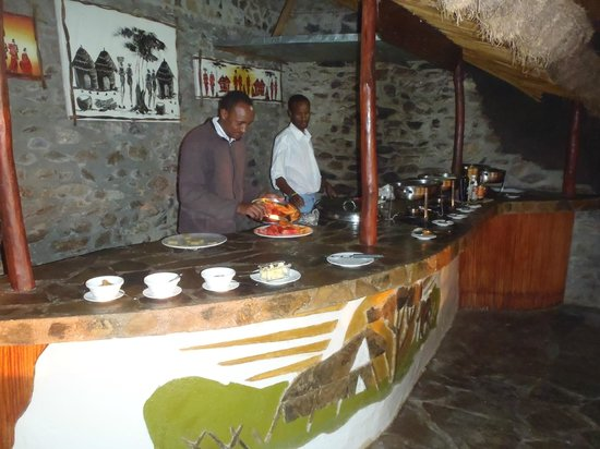 Mapito Tented Camp Serengeti: Breakfast and dinner served
