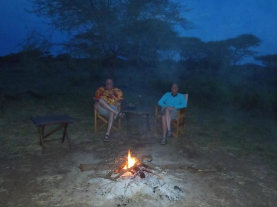 Mapito Tented Camp Serengeti: Campfires everynight, if you ask