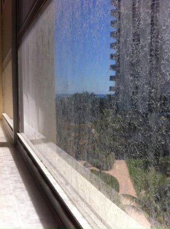 Ramada Plaza Marco Polo Beach Resort: Second floor window