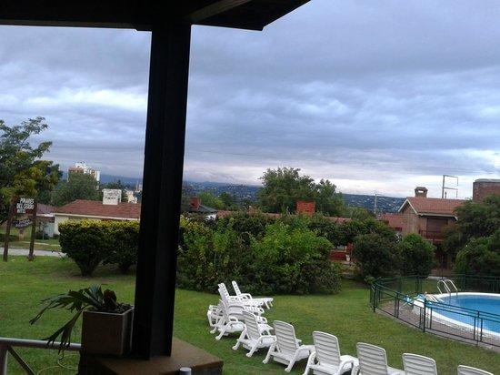 Hotel Pinares del Cerro: vista desde el balcon comedor