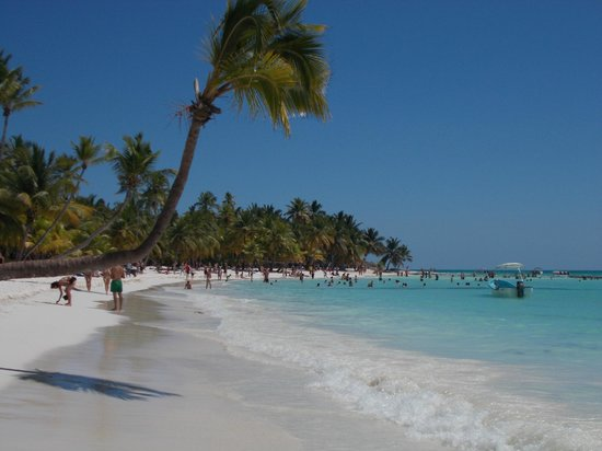 Excursion a la Isla Saona: Playa Isla Saona...