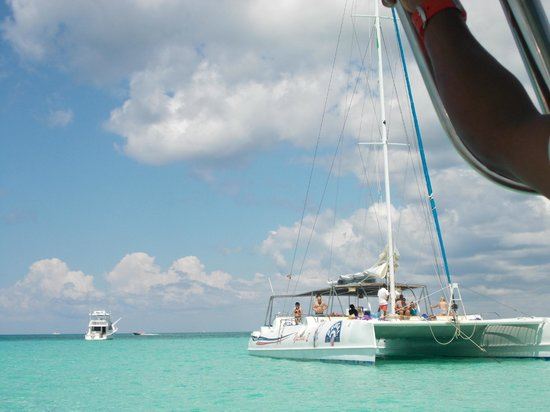 Excursion a la Isla Saona: Catamaran