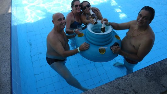 Amazon Jungle Palace: A piscina