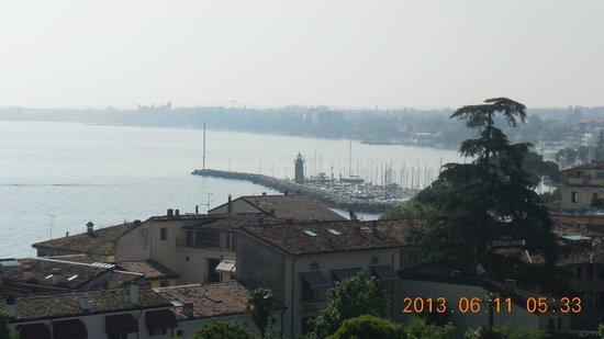 Hotel Bonotto : Vista desde la terraza de la habitación