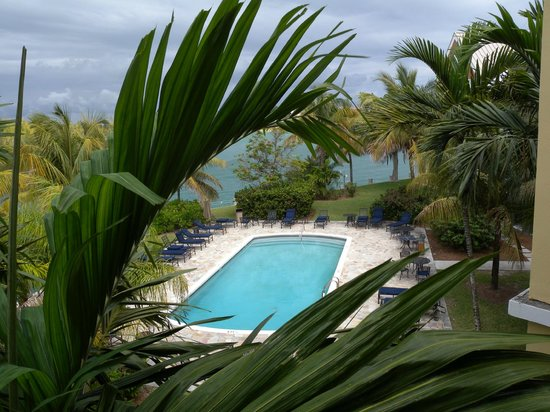 Pelican Bay at Lucaya: Another view of the Quiet Pool from our room