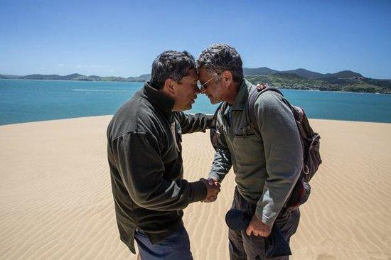 Sandtrails Hokianga : Maori farewell