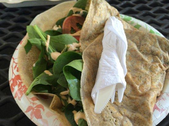 La Jolla Open Aire Market : Savory Crepes   my favorite!
