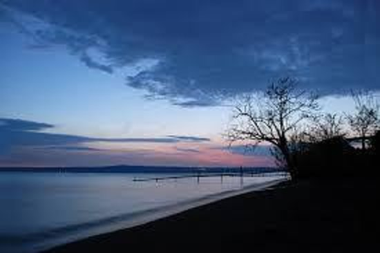 Ristorante La Pineta : Bolsena sunset