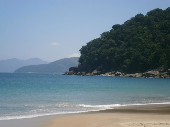 Sete Fontes Beach: Primera impresión de la praia
