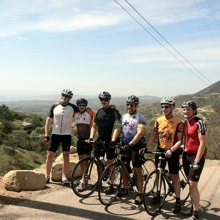 Cal Coast Adventures : Summit of Hwy 150, between Ojai and Santa Barbara